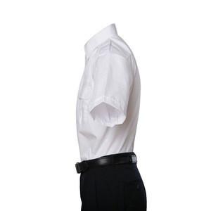 Short sleeves white airline pilot shirt