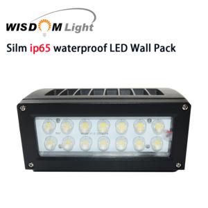 Solar ip65 LED recessed mount outdoor gardon wall pack lamp light fixture with motion sensor