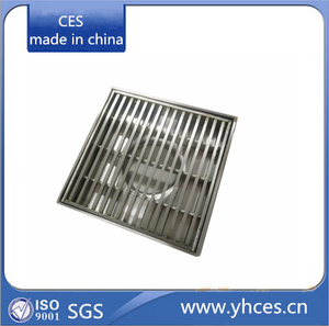 Stainless Steel Square Linear Floor Drain/Square Linear Floor Drain/stainless steel shower floor grate drain