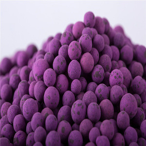 Strong oxidizing potassium permanganate for air purification
