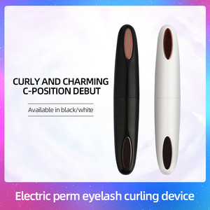 The New Design Mini Portable USB Rechargeable Heated Eyelash Curler