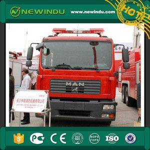 Used Zoomlion 6*4 17600L Water Fire fighting pump Vehicle truck SG180
