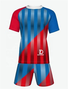 Wholesale men women uniform sports training jersey Sets Sublimation Football custom Soccer Wear