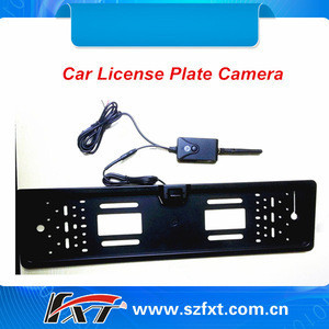 Wifi Transmisson Long Range 150m Waterproof Car License Camera,Car Reversing Aid Viewed By Iphone,Ipad and Android Phone