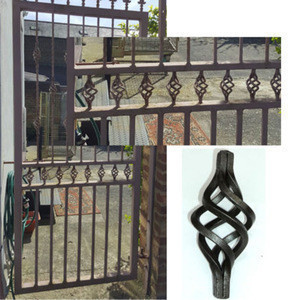 Wrought Iron Gate Designs For Homes Made In China, Hot-sales Door Iron Gate , Wrought Iron Gates