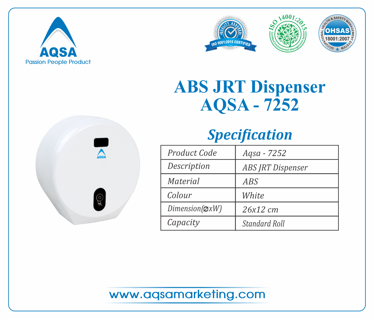 ABS JRT Dispensers