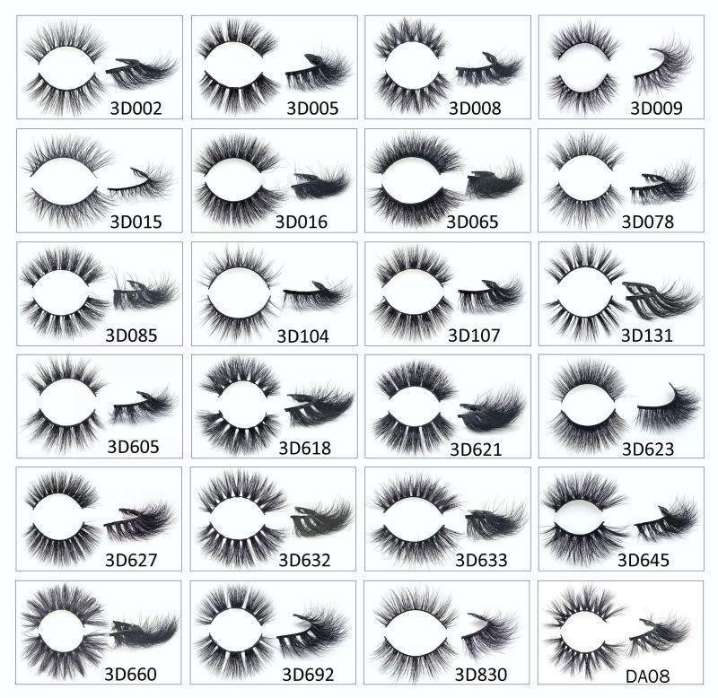 Private Label Top 3D Mink Eyelashes