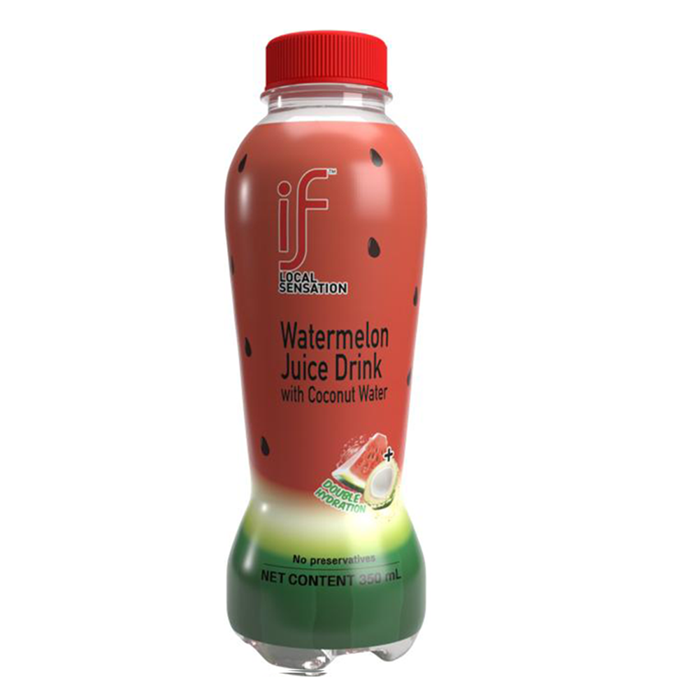 Premium Coconut Water with Watermelon | Naturally Hydrating | No Preservatives | Halal Certified | 24 pack | 11.8 OZ