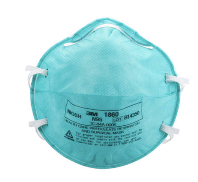 N95 face mask OR 3M N95 1860