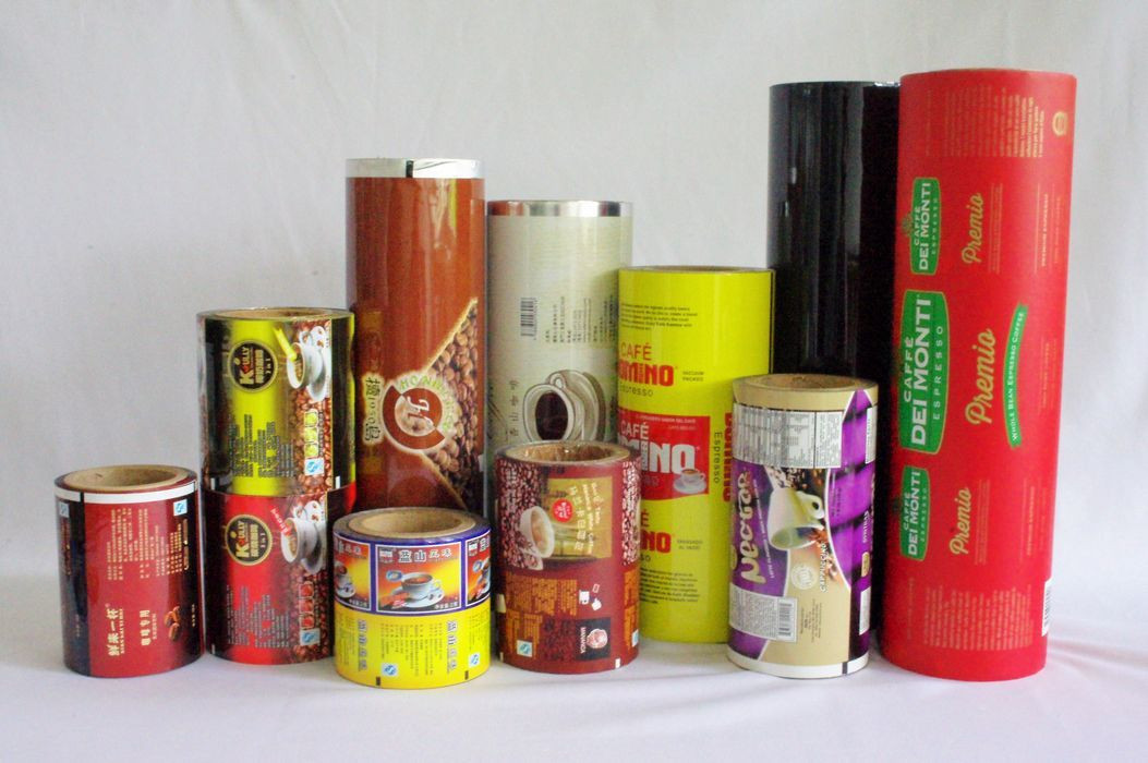 Various coffee, milk tea instant drink automatic packaging film in roll