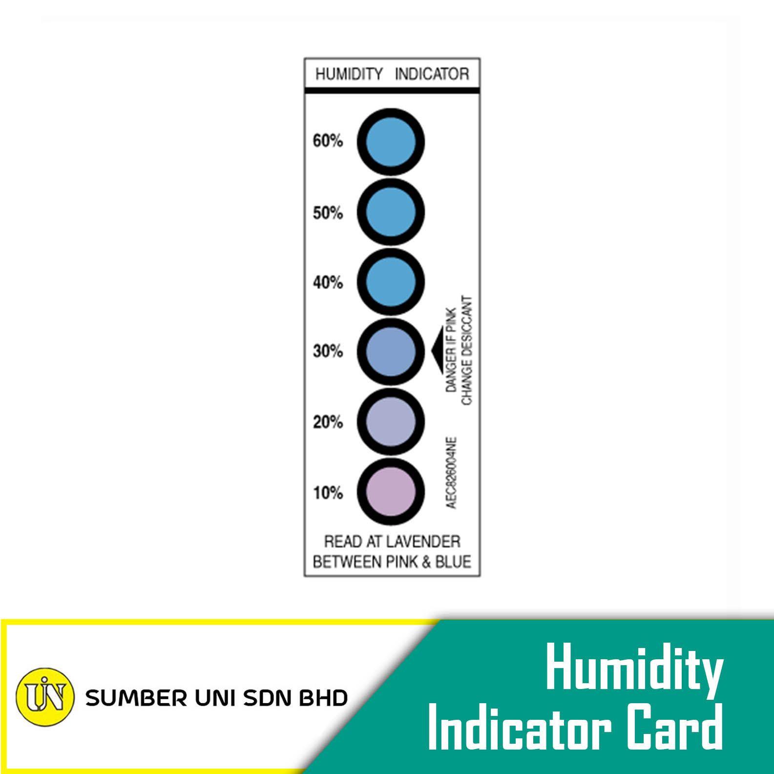 Humidity Indicator Card (HIC)
