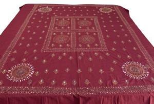 100 % cotton material handmade Kantha bohemian Luxury bedspread