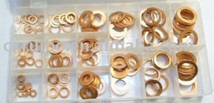150pcs copper washer kit