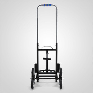 190kg Steps Stair Climbing Removalist Folding Goods Transport Dolly Cart Trolley