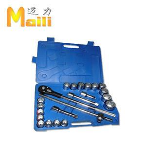 "22pcs 3/4""DR (19-50mm) Plastic boxes Socket set 6PT"