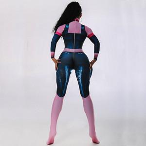 3D Print Super Hero Warrior Woman Cosplay Costume  Bodysuit Lycra Spandex Zentai Catsuit