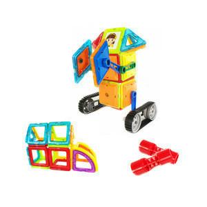 78pcs Magic intelligence plastic magnet tile construction toy building bricks magnetic building blocks for kids