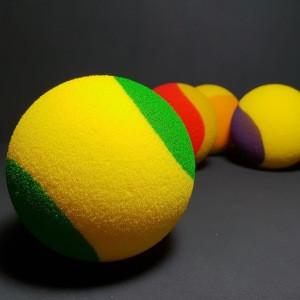 88 mm PU foam ball tennis ball for kids and junior training
