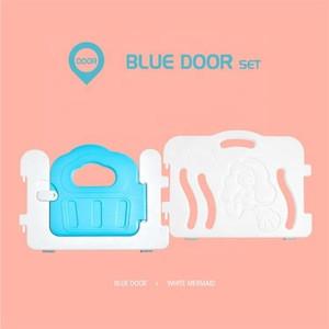 Baby Playpen With Door Mini Eco-friendly Baby Plastic Fences Indoor