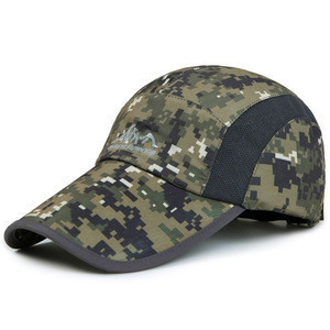Camouflage Fitted minor league design your own baseball caps
