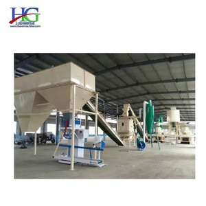 Compact construction Stainless steel material High cost compost granule weighing packaging organic fertilizer packaging machine