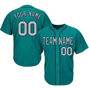 Fast delivery Custom Printing Baseball Plain Shirts Baseball Jersey Outfit Mens Sublimation Cheap Price Baseball jersey