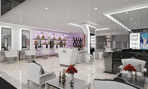 Hair Dressing Studio Design Shopping Mall Nail Bar Kiosk Beauty Salon Store