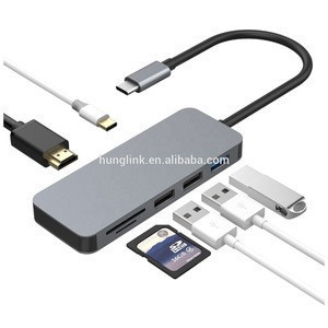 High Speed Aluminium USB C 3.0 4K Power Delivery Suppliers Charger 4 Port Usb Hub