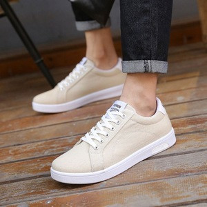 Hot New Products Stock Canvas Shoes Men Casual With Great Price