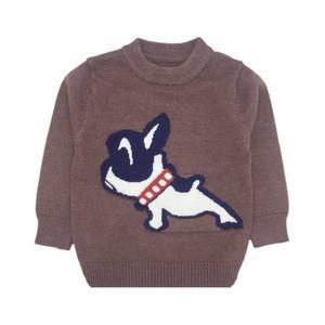 Knitting patterns children cartoon sweater for boys