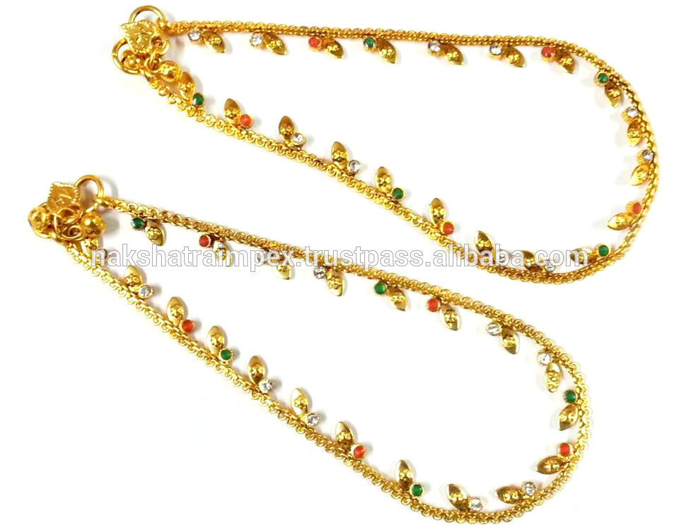 New Fashionable Women Wear Imitation Jewelry Anklets - NAN2g06