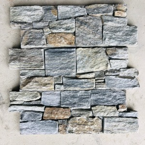 Outdoor landscape  wall stone deco stone wall cladding