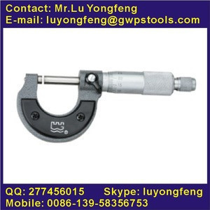 Outside micrometers stainless steel material