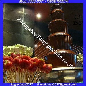 Party chocolate fountain/large chocolate fountain/chocolate fountain machine