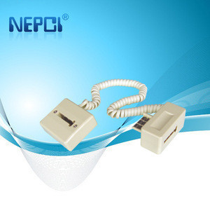 Plug to jack France telephone extension cord