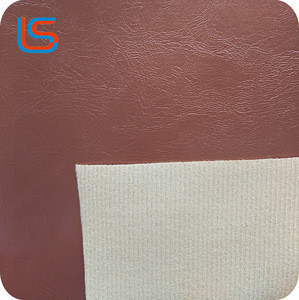 PVC oily surface synthetic leather popular used in sofa handbag wallet