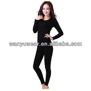 Seamless ladies thermal underwear long johns