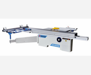 Sliding Table Saw Machine With Two Circular Saw Blades