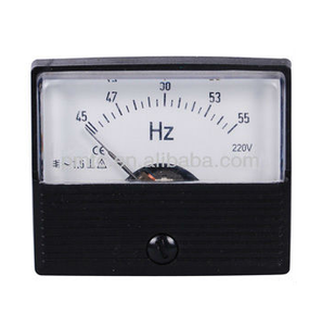 Square/Round Type Moving Coil Frequency Meters