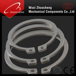SS304 SS316 stainless steel retaining ring for shaft DIN471