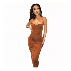 Summer Slim Fit Sexy Party Ladies Sleeveless Dresses Women clothing for women