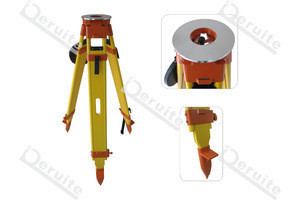 Wooden tripod SDI001-8 for total station and theodolite