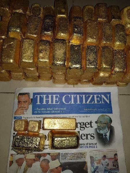 AU GOLD BARS AND NUGGETS