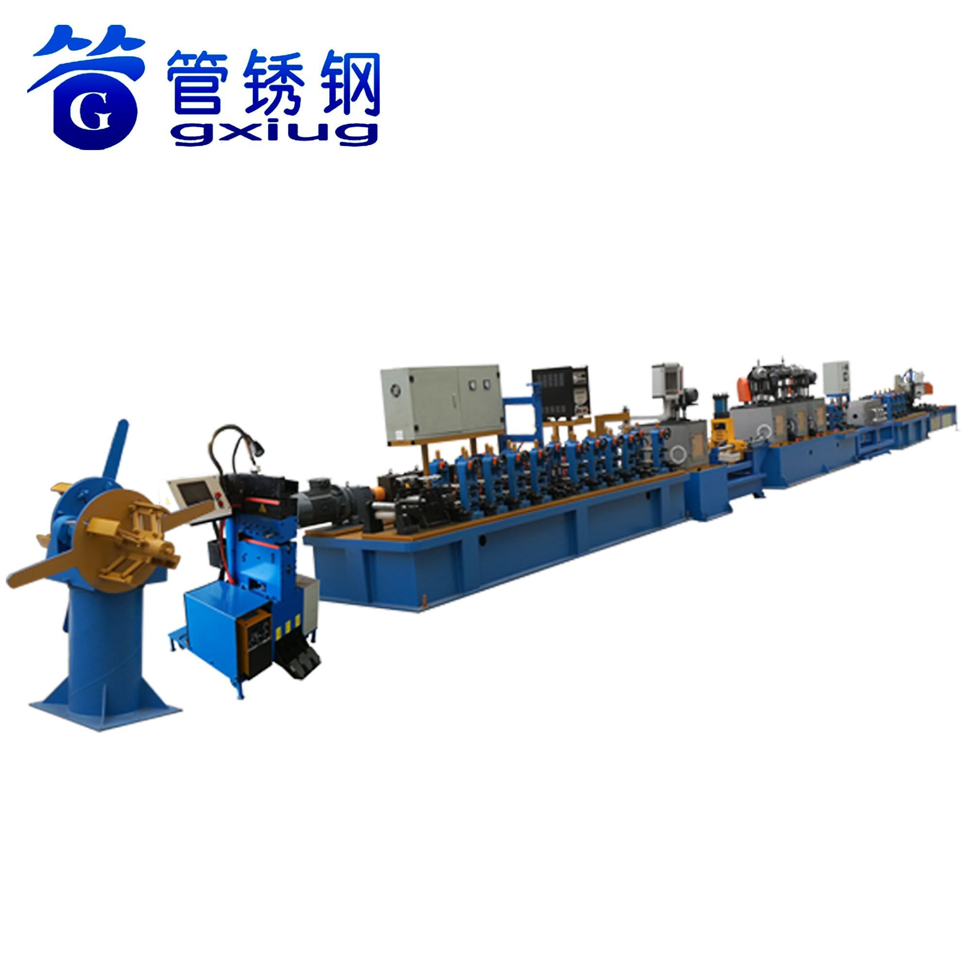 Industrial Automatic Stainless Steel Round Tube Welding Pipe Making Machine