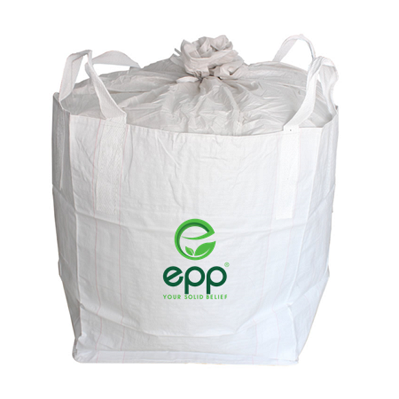 EPP TUBULAR BIG BAG WITH DUFFLE TOP BULK BAG CONTAINER BAG 1000KG TOTE BAG FIBC BIG BAG