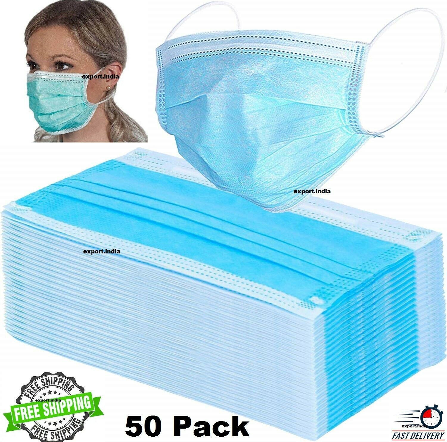 NEW Unisex Winter Warm Mouth Anti-Dust Flu Face Mask Surgical Respirator Mask