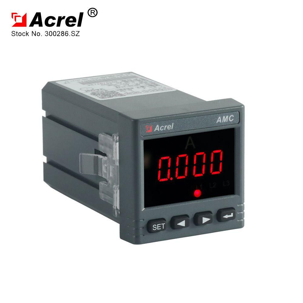 ACREL 300286.SZ Manufacture single phase ammeter AMC48-AI programmable ampere meter current panel meter
