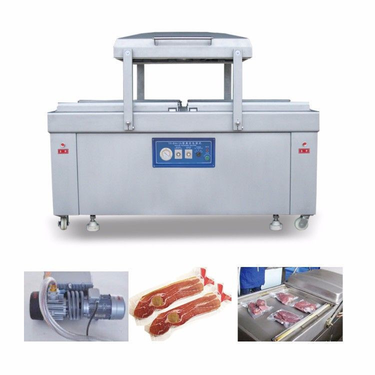DZ-800/2S FULL AUTOMATIC DOUBLE CHAMBER VACUUM PACKAGING MACHINE VACUUM SEALER