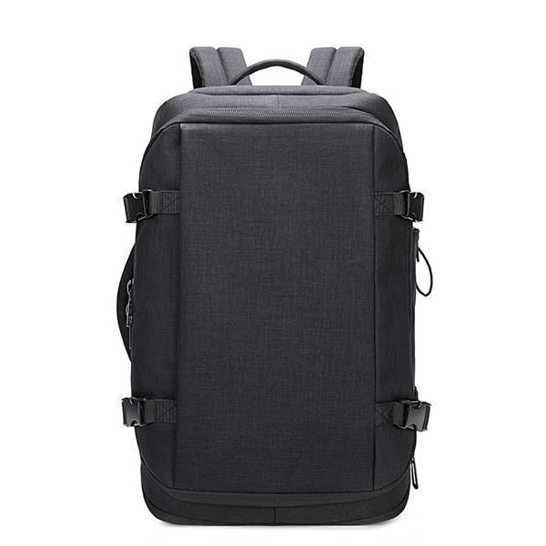 Multi-Purpose Laptop Backpack Briefcase with Water Resistant Coating Practical Bussiness Shoulder Bag