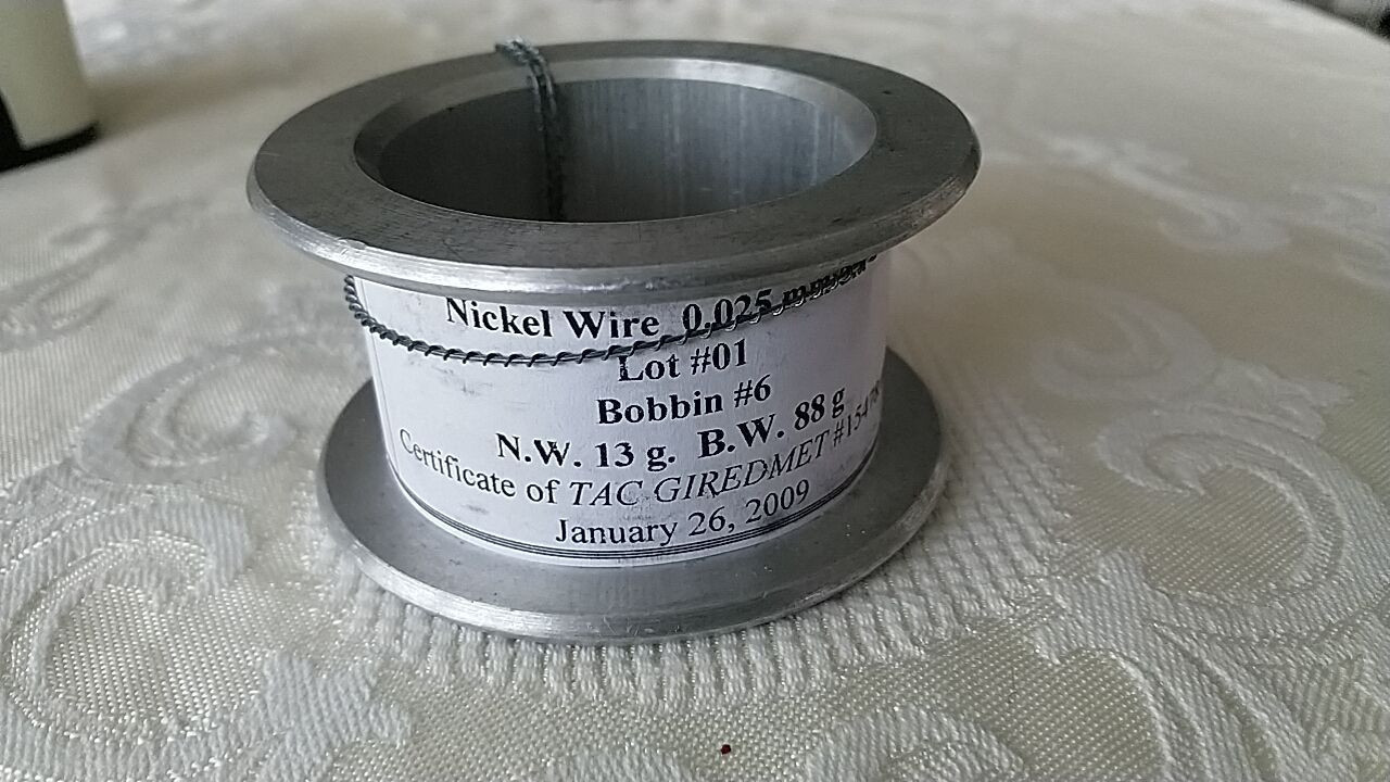 Nickel Wire 0.025mm